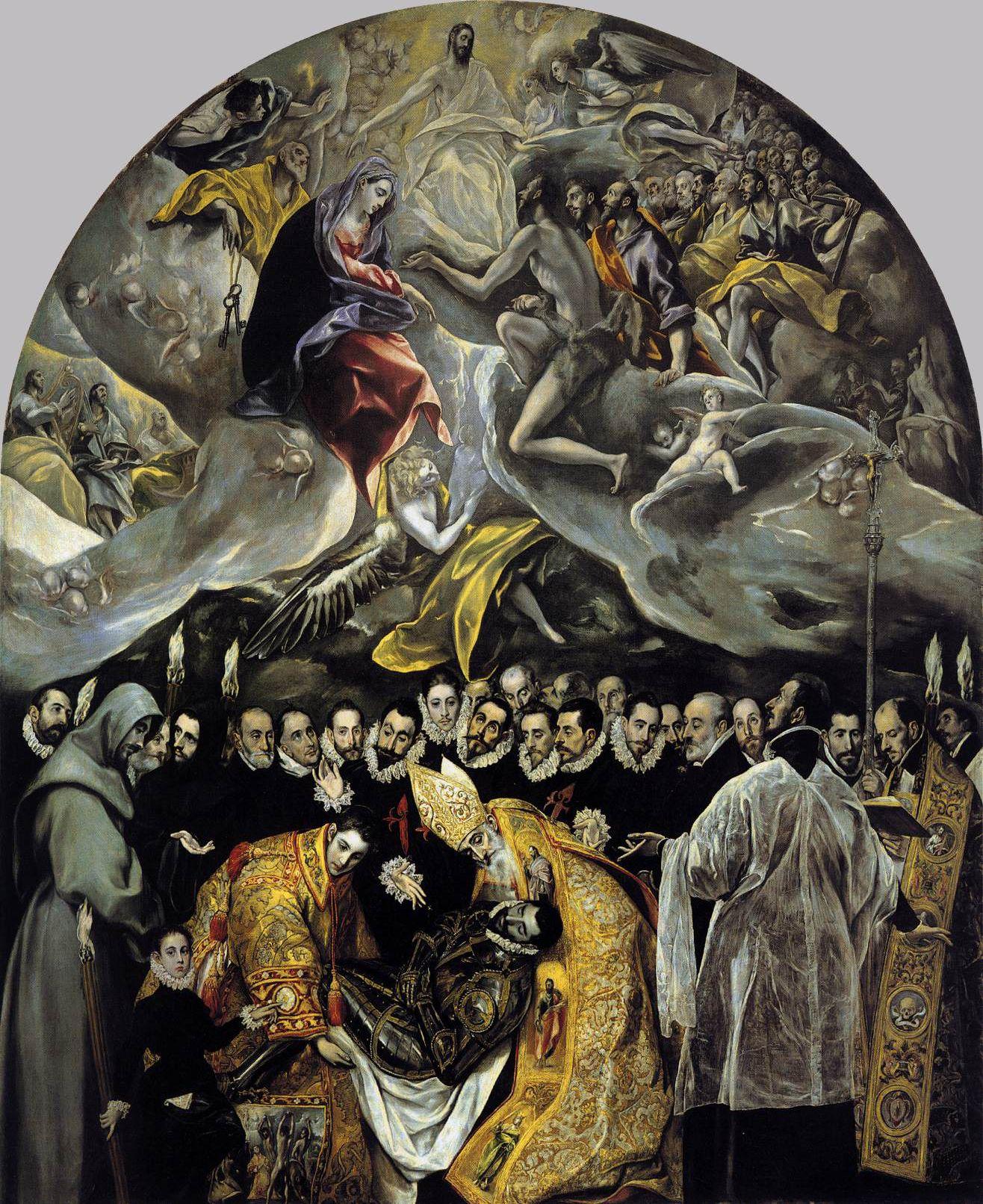 El Entierro del Conde de Orgaz (The Burial of the Count of ...